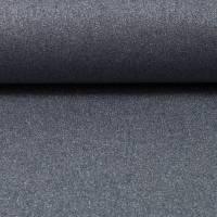 Beschichtete Baumwolle Stoff  Glitzer rauchblau  Zuschnitt 50 x 70 cm Bild 1