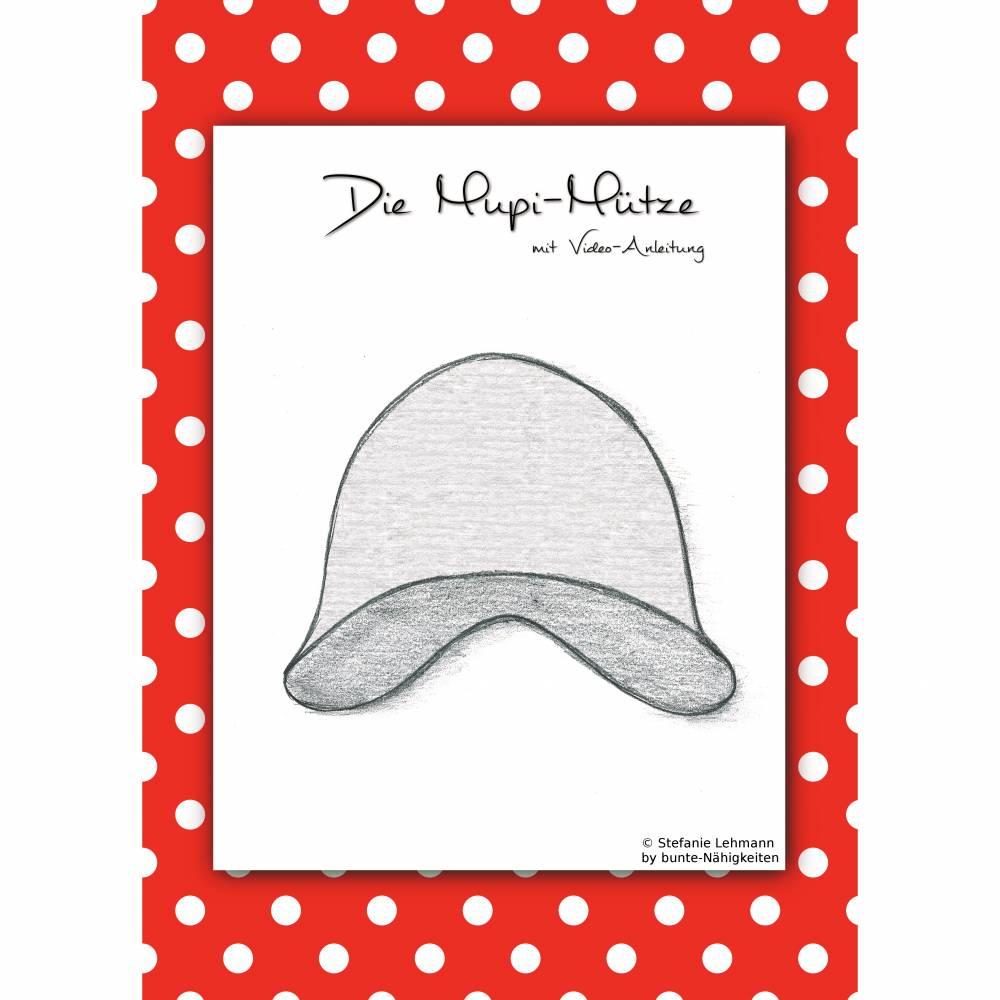 Papierschnittmuster Mupi-Mütze Gr. 36/37-60/61 Bild 1