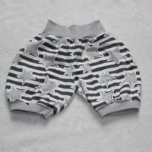 kurze Hose / Pumphose - Stars & Stripes - Größe 110/116
