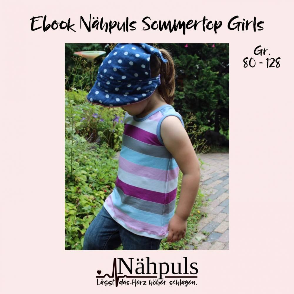Ebook Nähpuls Sommertop Girls Gr. 80 bis 128 Bild 1