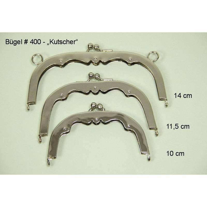 3 Taschenbügel #400 14cm, 11,5cm und 10cm Bild 1