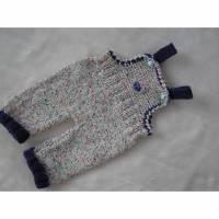 Latzhose für Teddybär, Puppenkleidung Bild 1