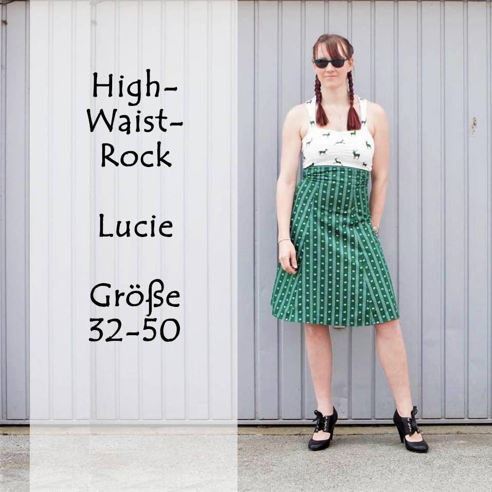 eBook High-Waist-Rock/Kleid Lucie Gr. 32-50 Bild 1