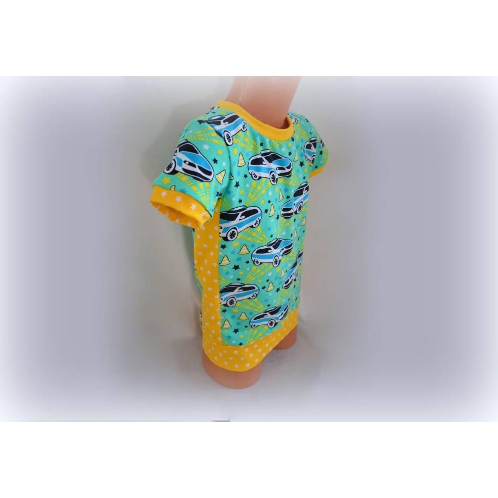 Cooles Poizeiauto-Shirt in Wunschgröße Bild 1