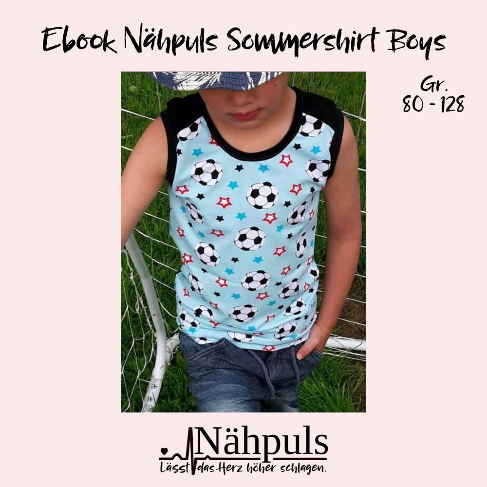 Ebook Nähpuls Sommershirt Boys Gr. 80 bis 128 Bild 1