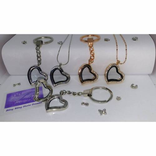 Medaillon - Halskette, Herz