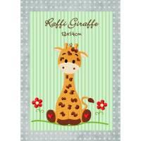 digitale Datei,Stickdatei Raffi Giraffe 13x14cm