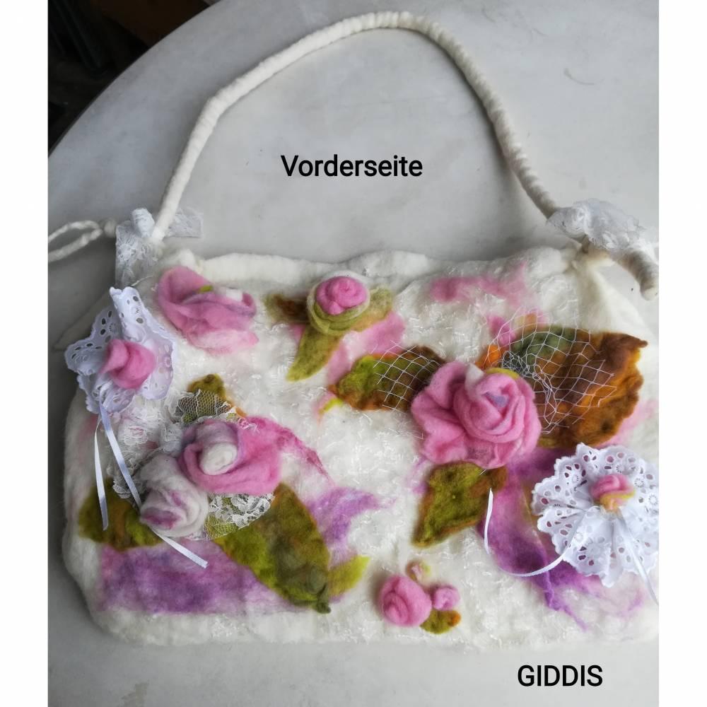 Filztasche-Damen Umhängetasche Bild 1