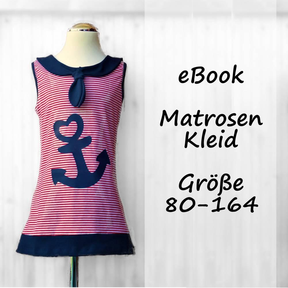 eBook Matrosenkleid Enie Gr. 80-164 Bild 1