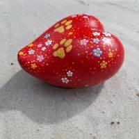 Herzurne BIG LOVE Tierurne Dot Painting 0,5 ltr. - 8 kg Lebendgewicht für den Innenbereich Bild 3