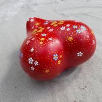 Herzurne BIG LOVE Tierurne Dot Painting 0,5 ltr. - 8 kg Lebendgewicht für den Innenbereich Bild 5