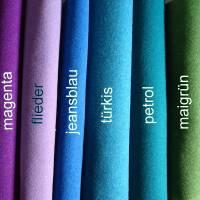 Bestickte Impfpasshülle aus Filz *nach Wunsch angefertigt *Kaktus Bild 7