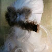 Haarspange, Feder-Haarschmuck, mit echten Federn (HS15)  Bild 4
