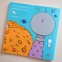 Lenzkunzt Lacaluna Das Ausmalbuch, Malbuch, Coloring Book, Zeichnen, Ausmalen, Frösche und Frauen Bild 2