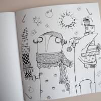 Lenzkunzt Lacaluna Das Ausmalbuch, Malbuch, Coloring Book, Zeichnen, Ausmalen, Frösche und Frauen Bild 7