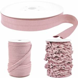 Jersey-Volantband / Bridal Rose / Pretty Edition (1 m - 2,75 EUR/m) Bild 2