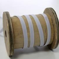 Gummiband 0,6 cm schmal weiss Bild 2
