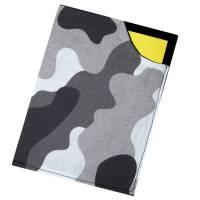 Impfpasshülle doppellagige Baumwolle verstärkt *Camouflage weiß* Impfausweis Hülle Schutzhülle waschbar Bild 1