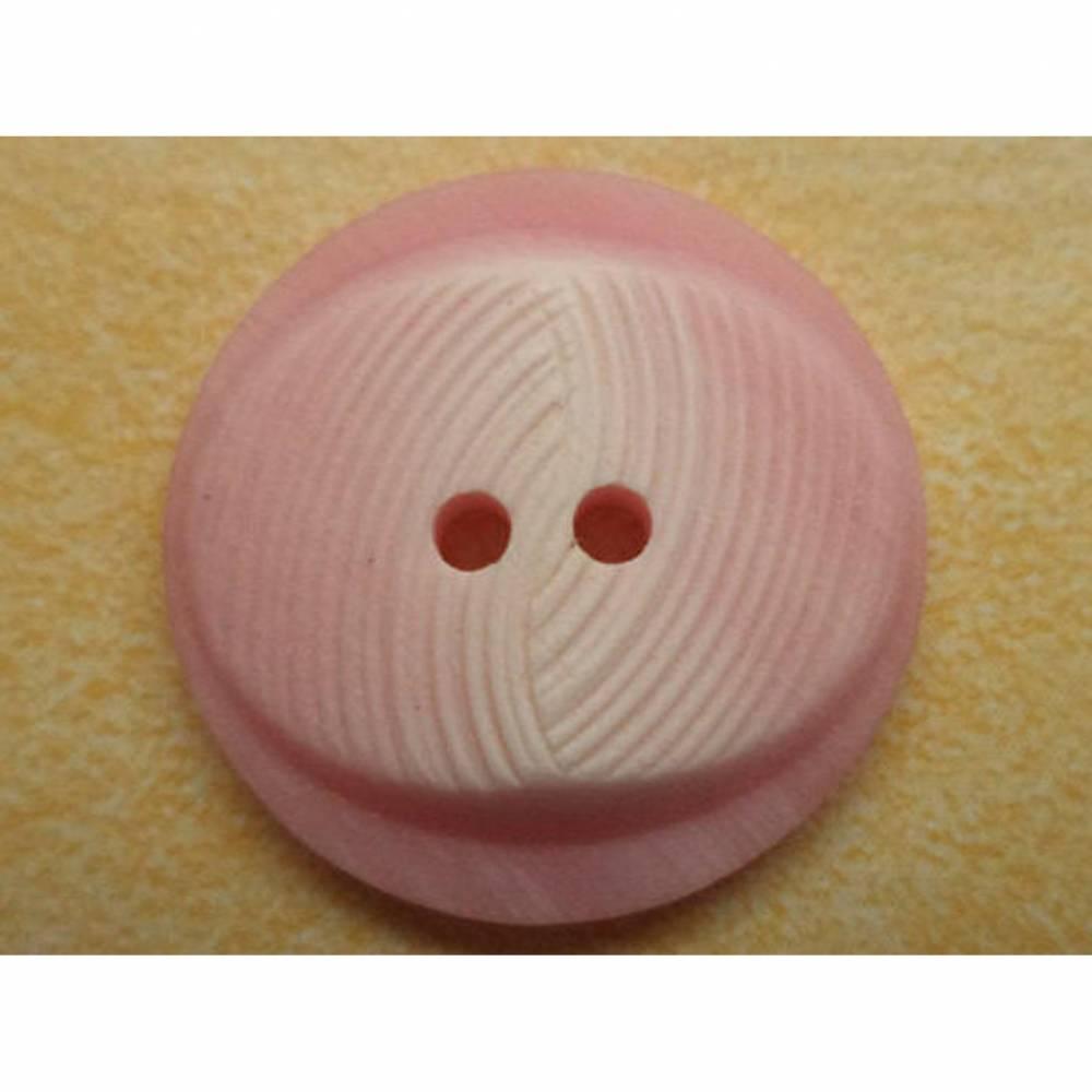rosa Knöpfe 21mm (6114) Bild 1