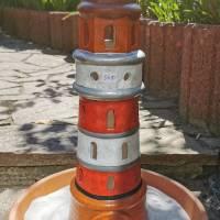 Leuchtturm Maritim Keramik Bild 1