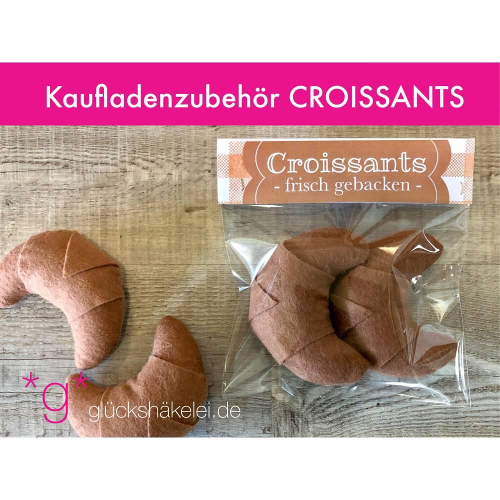 Kaufladenzubehör CROISSANTS für Kinderküche/Kaufmannsladen/Zubehör für Kaufladen Bild 1