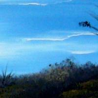 Strandimpressionen – Original Ölmalerei auf Leinwand - Unikat Bild 4