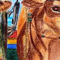 Algarvefischer – Original Pastellkreidemalerei, gerahmt. Bild 3