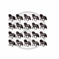 Plotterdatei Größen Label Pferd Bild 2