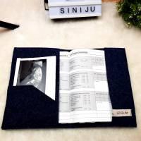 Mutterpasshülle, Mutterpass Hülle personalisiert, Hülle Namen, Schutzhülle Etui, Geschenk für Schwangere Bild 2
