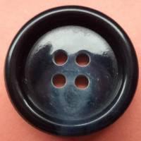 Knöpfe schwarz blau 20mm (1370) Bild 1