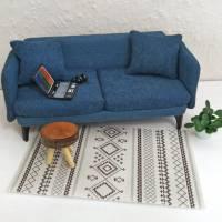 Moderne Teppiche fürs Puppenhaus 3 verschiedene Größen und 2 Farben Bild 2