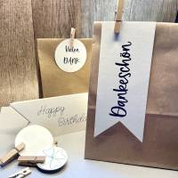 Geschenktüten, Geschenktütenset zum Verpacken von Geschenken Bild 1