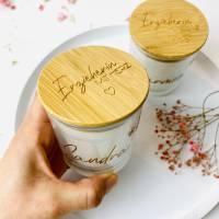 Kerze personalisiert - Erzieherin mit Herz Bild 3