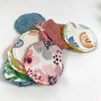 Abschminkpads/ Wattepads bunt 9 St nachhaltig, umweltfreundlich/ Kosmetikpads/ Zerowaste Gesichtspfelge/ Reinigungspads  Bild 6