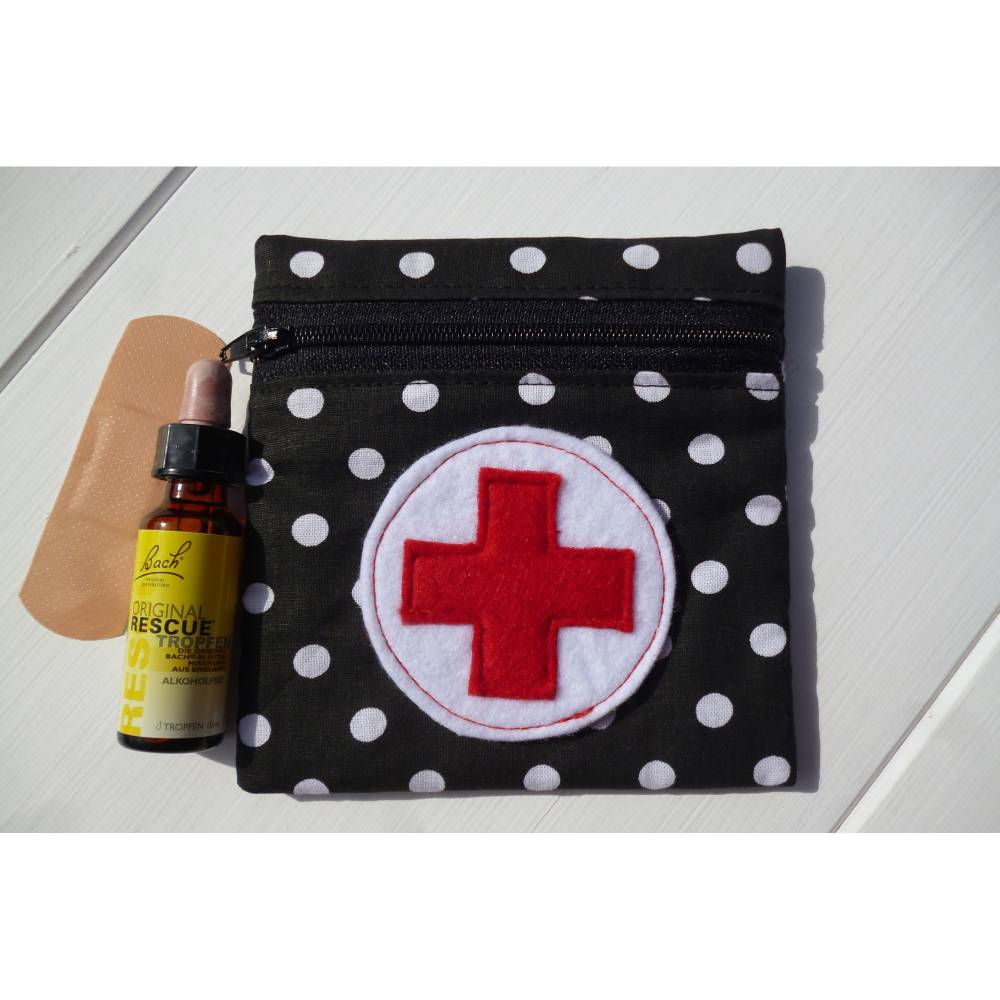 Erste Hilfe Täschchen, Notfalltäschchen, Pflastertäschchen, Globulitäschchen, Tasche, 1.Hilfe, Wandern, Outdoor Bild 1