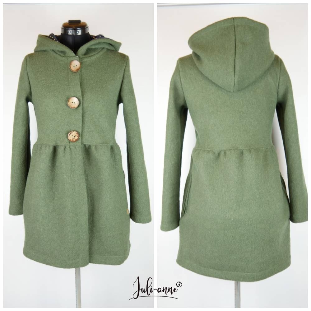 "Damen Walk Jacke ""Jumi"" Grün Moosgrün Bild 1"