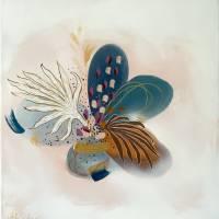 """""""Fresh Spring"""" 40 x 40 cm Acrylbild  Bild 1"""
