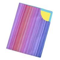 Impfpasshülle doppellagige Baumwolle verstärkt *Regenbogen* Impfbuch Hülle Schutzhülle waschbar Bild 1
