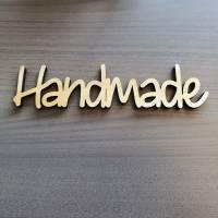 """Holzschriftzug """"Handmade"""" Bild 2"""