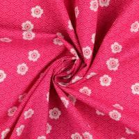 Baumwolle Baumwollstoff Blumen Blümchen pink(1m /8,00€) Bild 1