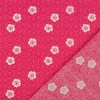 Baumwolle Baumwollstoff Blumen Blümchen pink(1m /8,00€) Bild 2