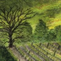 Toskana - Original Pastellkreidemalerei, gerahmtes Unikat Bild 5