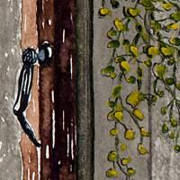 Die Zeit des Lebens - Original Aquarellmalerei, gerahmtes Unikat Bild 2