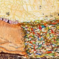 Die Zeit des Lebens - Original Aquarellmalerei, gerahmtes Unikat Bild 5