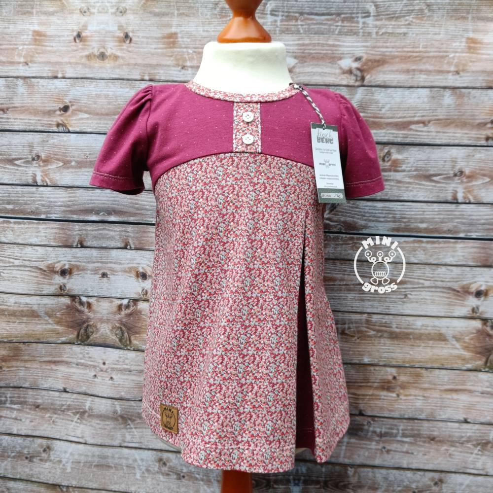 Shirt Lottchen Gr. 98 104 Millefleure mit Pünktchen Bild 1