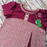 Shirt Lottchen Gr. 98 104 Millefleure mit Pünktchen Bild 4