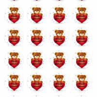 24 Sticker Etiketten Aufkleber, rund D= 4 cm, neu, Bleib gesund Bild 2