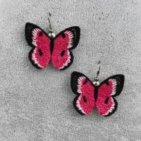Ohrringe Schmetterlingsflügel Lace  Bild 1