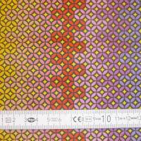 10,30 EUR/m Stoff Baumwolle Ornamente / Kreise bunt Bild 7