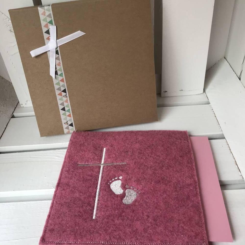 Geldgeschenk, Geschenkbox, Gutscheinbox, ... Gutschein, Geburt, Taufe, 1. Geburtstag Bild 1